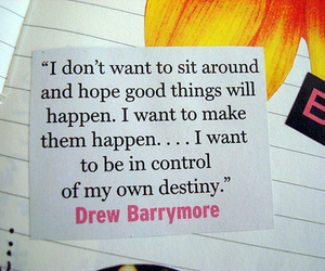quote, drew barrymore, and text image
