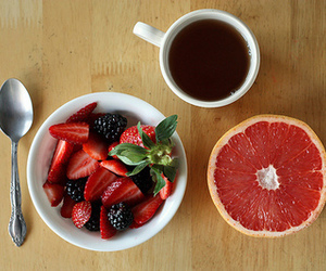 food, strawberry, and fruit image