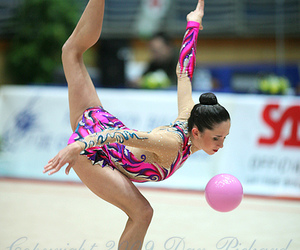 ball, gif, and gymnast image