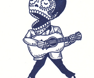 50's, mexican, and muertos image