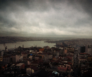 clouds, istanbul, and photoart image