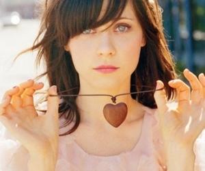 zooey deschanel and heart image