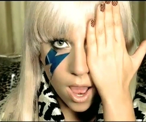 just dance and Lady gaga image