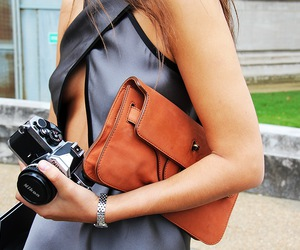 camera, dress, and fashion image