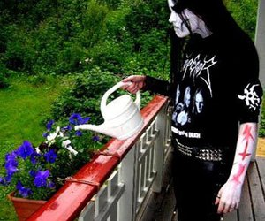 Black Metal, style, and fashion image