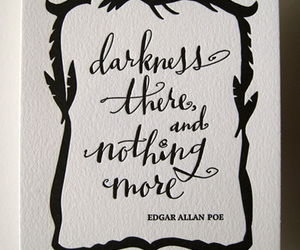 calligraphy, Halloween, and letterpress image
