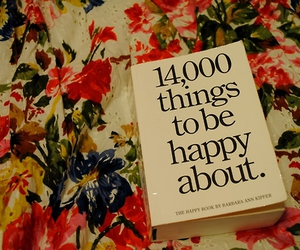 book, happy, and floral image