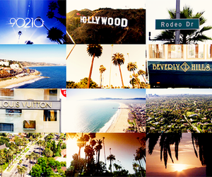 90210 and hollywood image