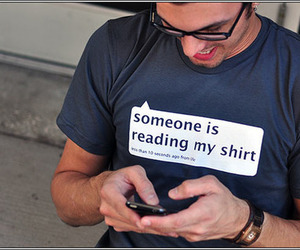 shirt, funny, and text image