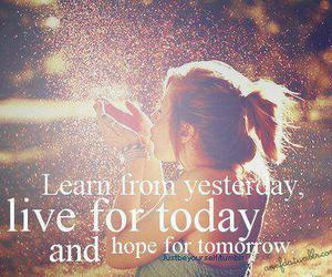 live, quote, and hope image