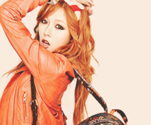 hyuna and 4minute image