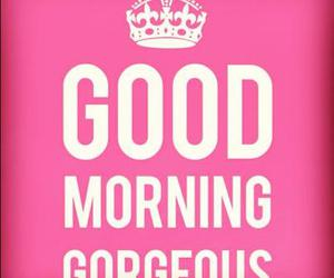 gorgeous, pink, and good morning image