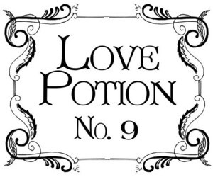love potion and love image