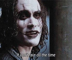 brandon lee, rain, and the crow image