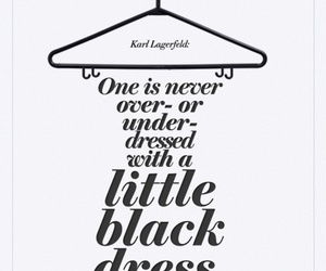 quote, dress, and black image