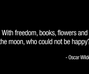 quote, oscar wilde, and books image
