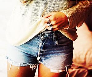 fashion, shorts, and rings image