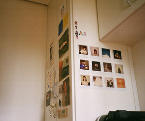 polaroids and vintage image
