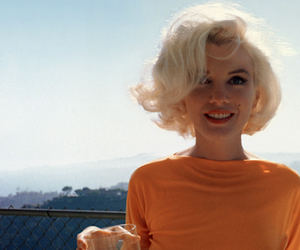 beautiful, blonde, and marylin image