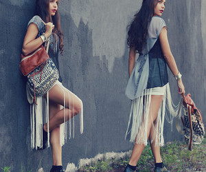 clothes, girly, and look image