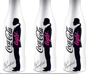 coca cola and karl lagerfeld image