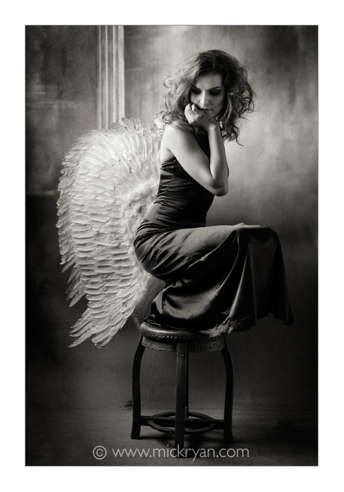 angel, wings, and woman image
