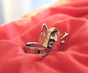 crown, rings, and ring image