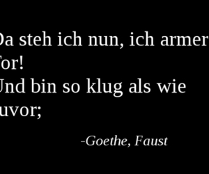 faust and goethe image