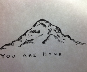 home and mountain image