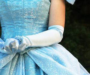blue, cinderella, and disney image