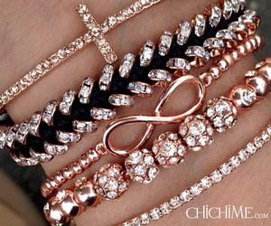 bracelet, style, and infinity image