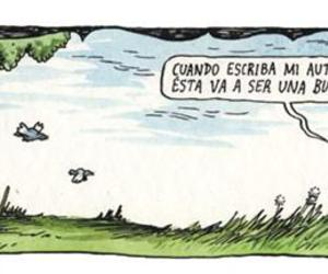 comic, liniers, and nature image