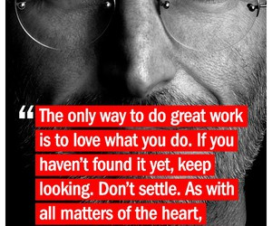 quotes, Steve Jobs, and work image