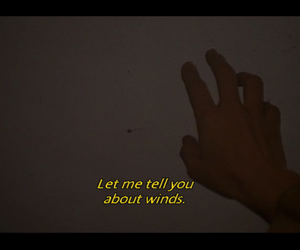 hand, movie, and quote image