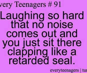 funny, laughing, and quotes image