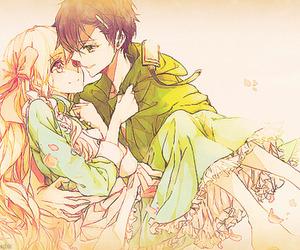 anime, couple, and boy image