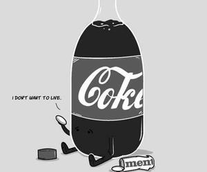 coke, mentos, and funny image
