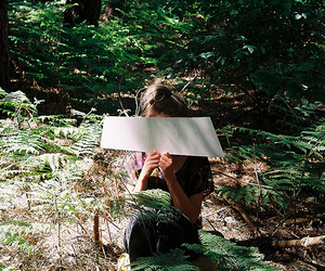 forest, girl, and hipster image