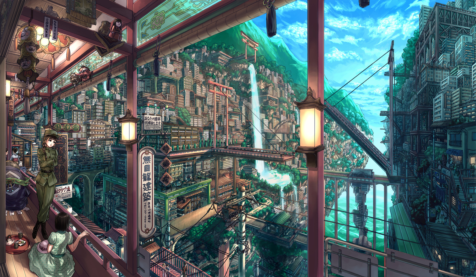 Totally Amassing Scenery Anime Wallpapers Part 2