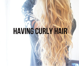 curly hair, love, and fashion image