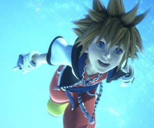 sora and kingdom hearts image