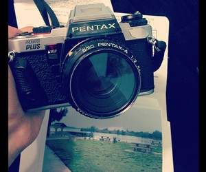 camera, film, and pentax image
