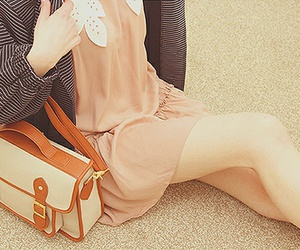 clothes, hipster, and purse image