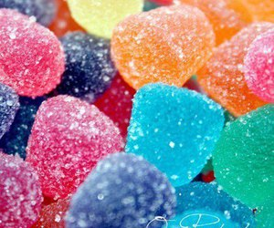 candy, colorful, and delicious image