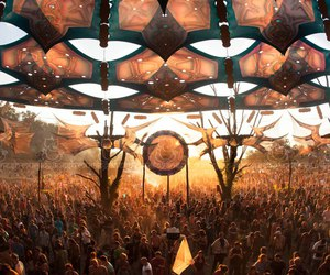 festival and psychedelic image