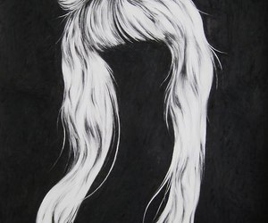bow and hair image
