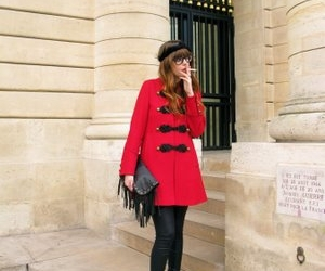 fashion, military, and red image