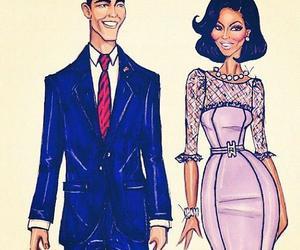 hayden williams, obama, and michelle obama image