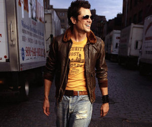boy, handsome, and Johnny Knoxville image