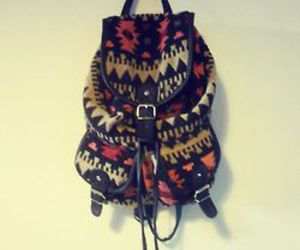 adorable, backpack, and colorful image